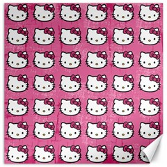 Hello Kitty Patterns Canvas 20  x 20