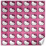 Hello Kitty Patterns Canvas 20  x 20   20 x20 Canvas - 1