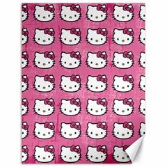 Hello Kitty Patterns Canvas 18  x 24