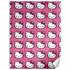 Hello Kitty Patterns Canvas 36  x 48
