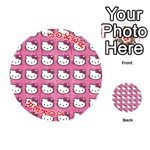 Hello Kitty Patterns Playing Cards 54 (Round)  Front - Joker2