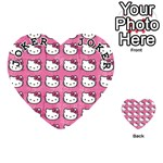 Hello Kitty Patterns Playing Cards 54 (Heart)  Front - Joker1