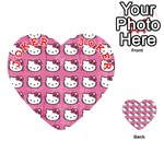 Hello Kitty Patterns Playing Cards 54 (Heart)  Front - Joker2