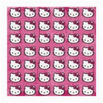Hello Kitty Patterns Medium Glasses Cloth (2-Side) Front