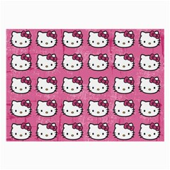 Hello Kitty Patterns Large Glasses Cloth