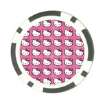 Hello Kitty Patterns Poker Chip Card Guards Back