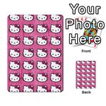 Hello Kitty Patterns Multi-purpose Cards (Rectangle)  Back 43