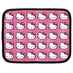 Hello Kitty Patterns Netbook Case (Large)