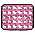 Hello Kitty Patterns Netbook Case (Large) Front