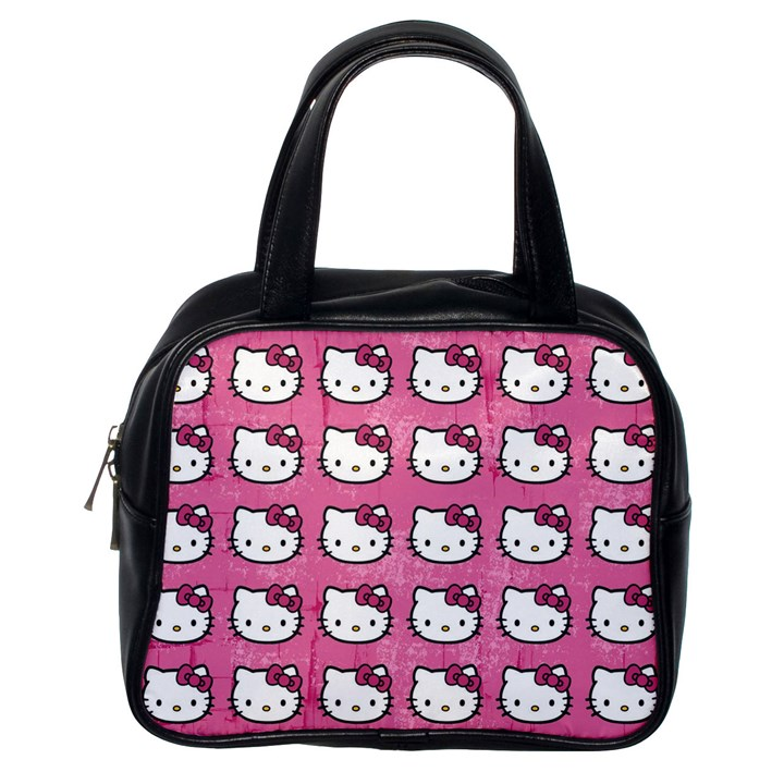 Hello Kitty Patterns Classic Handbags (One Side)