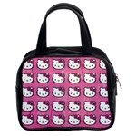 Hello Kitty Patterns Classic Handbags (2 Sides) Front