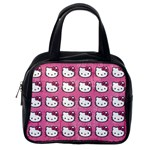 Hello Kitty Patterns Classic Handbags (2 Sides) Back