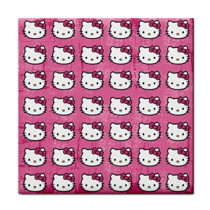 Hello Kitty Patterns Face Towel