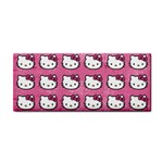 Hello Kitty Patterns Hand Towel Front
