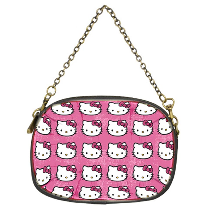 Hello Kitty Patterns Chain Purses (Two Sides)