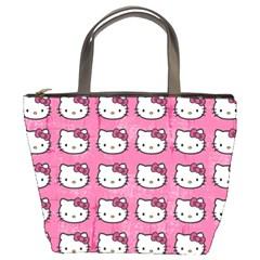 Hello Kitty Patterns Bucket Bags