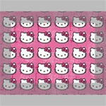 Hello Kitty Patterns Mini Canvas 7  x 5  7  x 5  x 0.875  Stretched Canvas