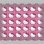 Hello Kitty Patterns Canvas 10  x 8  10  x 8  x 0.875  Stretched Canvas