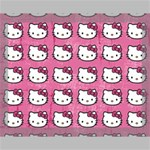 Hello Kitty Patterns Canvas 14  x 11  14  x 11  x 0.875  Stretched Canvas