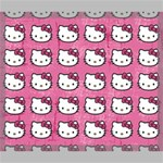 Hello Kitty Patterns Canvas 24  x 20  24  x 20  x 0.875  Stretched Canvas