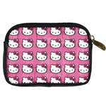 Hello Kitty Patterns Digital Camera Cases Back