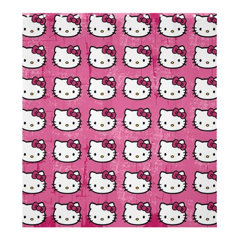 Hello Kitty Patterns Shower Curtain 66  x 72  (Large)