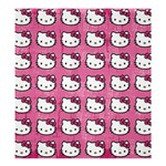 Hello Kitty Patterns Shower Curtain 66  x 72  (Large)  66 x72 Curtain