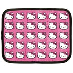 Hello Kitty Patterns Netbook Case (XL)  Front