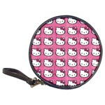 Hello Kitty Patterns Classic 20-CD Wallets Front