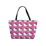 Hello Kitty Patterns Shoulder Handbags Front