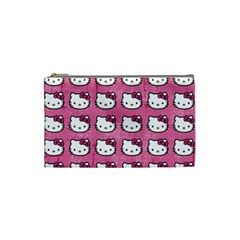 Hello Kitty Patterns Cosmetic Bag (Small)