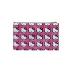 Hello Kitty Patterns Cosmetic Bag (Small)  Back