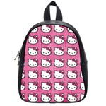 Hello Kitty Patterns School Bags (Small)  Front