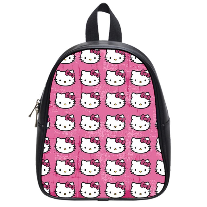 Hello Kitty Patterns School Bags (Small)