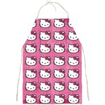 Hello Kitty Patterns Full Print Aprons Front