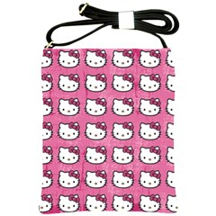 Hello Kitty Patterns Shoulder Sling Bags