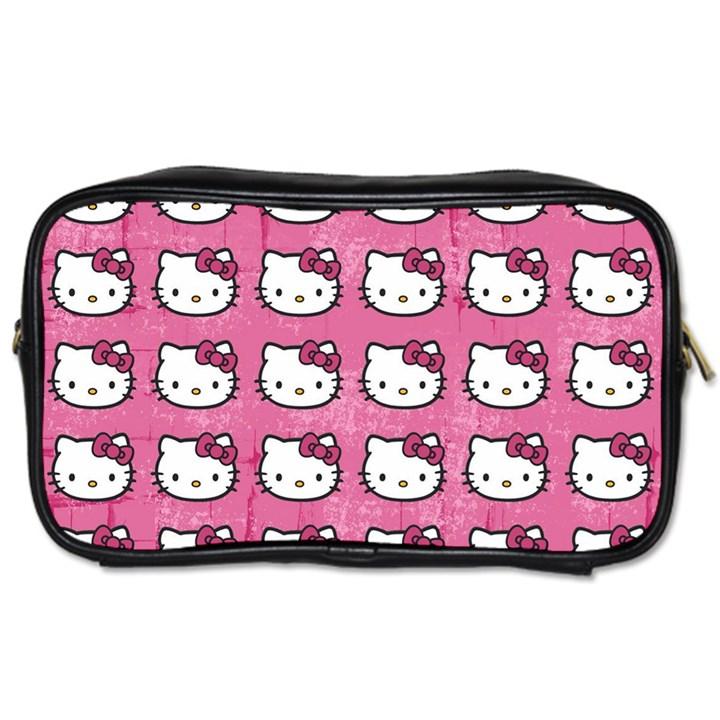 Hello Kitty Patterns Toiletries Bags
