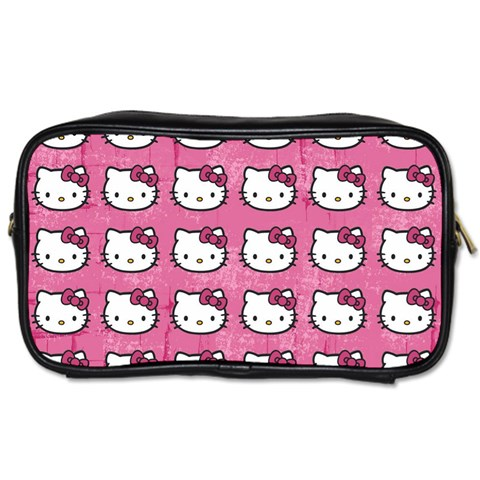 Hello Kitty Patterns Toiletries Bags 2-Side