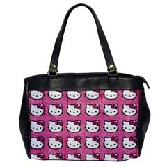 Hello Kitty Patterns Office Handbags
