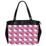 Hello Kitty Patterns Office Handbags (2 Sides)  Front