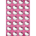 Hello Kitty Patterns 5.5  x 8.5  Notebooks Back Cover