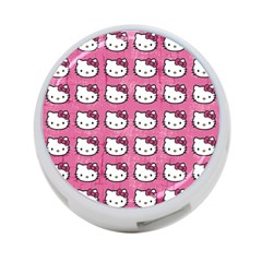 Hello Kitty Patterns 4-Port USB Hub (Two Sides)