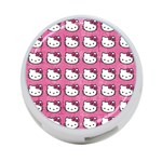 Hello Kitty Patterns 4-Port USB Hub (Two Sides)  Back