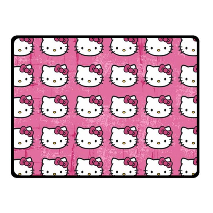 Hello Kitty Patterns Fleece Blanket (Small)