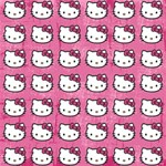 Hello Kitty Patterns Magic Photo Cubes Side 1