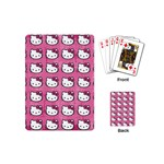 Hello Kitty Patterns Playing Cards (Mini)  Back