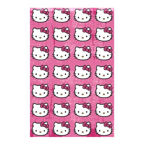 Hello Kitty Patterns Shower Curtain 48  x 72  (Small)