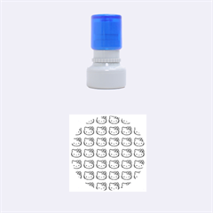 Hello Kitty Patterns Rubber Round Stamps (Small)