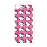 Hello Kitty Patterns Apple iPhone 4 Case (White) Front