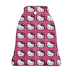 Hello Kitty Patterns Bell Ornament (2 Sides)